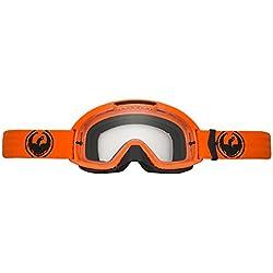 Dragon Mdx2-Gafas de Ciclismo, Color Naranja y Transparente