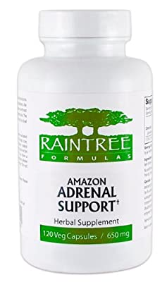 Raintree Adrenal Support 650mg 120 Veg Capsules