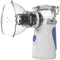 Preisvergleich für Aozzy ultraschall vernebler inhalator tragbar mit zubehör zur inhalator aerosol therapie für kinder und erwachsene...