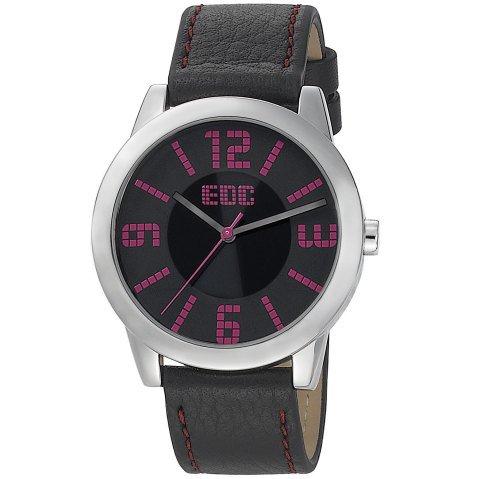 EDC by Esprit EE100872002 - Reloj unisex, correa de cuero color negro