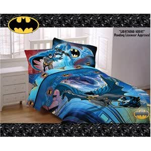 Bring your children's favourite crime-fighting character to life with our range of official DC Comics Batman merchandise. Find double and single duvets, curtains, LED lights and everything else you need to cover your bedroom Batcave with the Caped Crusader.