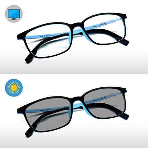 Pixel Lens PHOTOCROMIC Sunny- Gafas para Ordenador