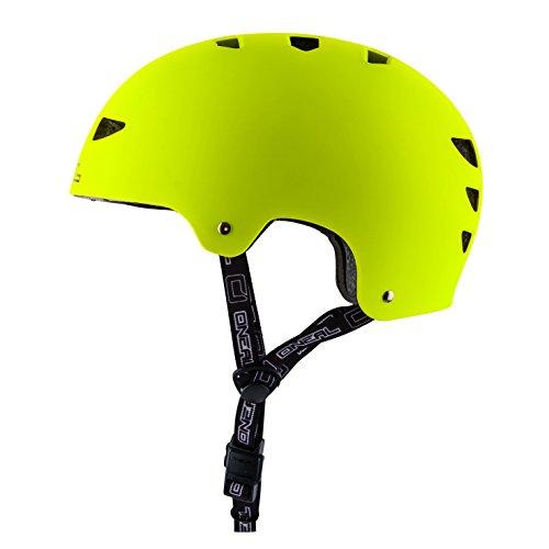 O 'Neal Dirt Lid ZF Fahrrad Helm, neon gelb, M (54–58cm)