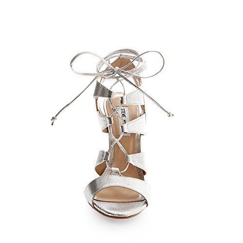 Sandales Madden D'argento Sandalette Steve Femme wY8Eq