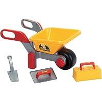 Polesie 38029 Building Wheelbarrow Filled Construct-Summer Toys, Multi Colour