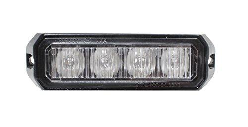 Große Glas-medien (Frontblitzer Raptor 12W ECE R65-10-30V DC (orange))
