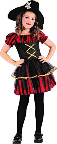 Magicoo Schicke Piratenlady - Piraten Kostüm Kinder Mädchen -