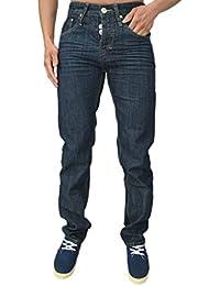 Emporium Designer Mens Jeans Regular Fit Tapered Leg Stylish Denim Jeans 3 Styles SALE RRP £59.99