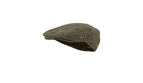 Barbour Pheasant Flat Cap - Brown Check  Amazon.co.uk  Clothing 3c3d144297a4