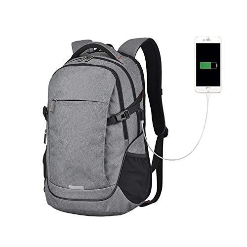 Sac à dos for ordinateur portable Sac à dos for entreprise Grand sac à dos avec port de chargement USB, Ordinateur portable 15,6 pouces / for école de voyage Randonnée en plein air, Université Hommes