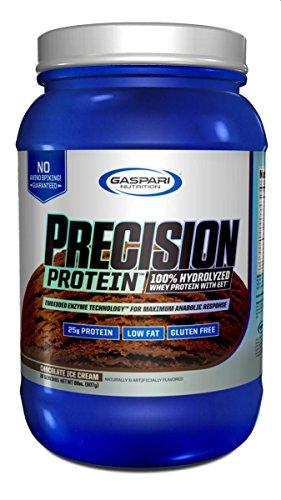 Gaspari Nutrition Proteine Isolate e Idrolizzate Precision Chocolate 2Lb - 1.101 kg - 4162qa0oBzL
