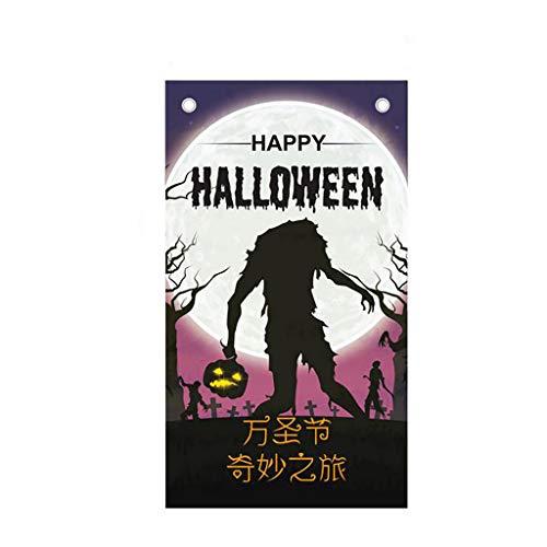 Baum Nymphe Kostüm - Ears Halloween Hintergrund hängen Flagge