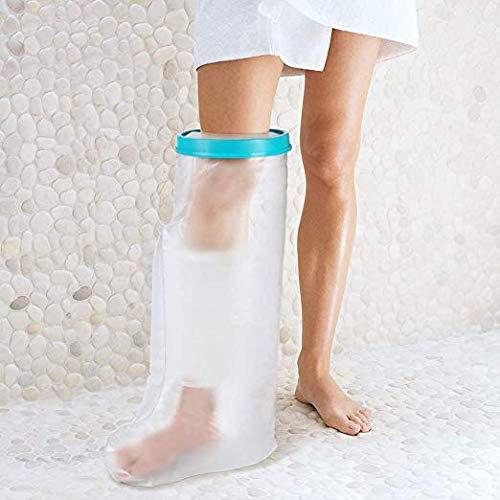 Funda pierna impermeable baño ducha adultos, protector