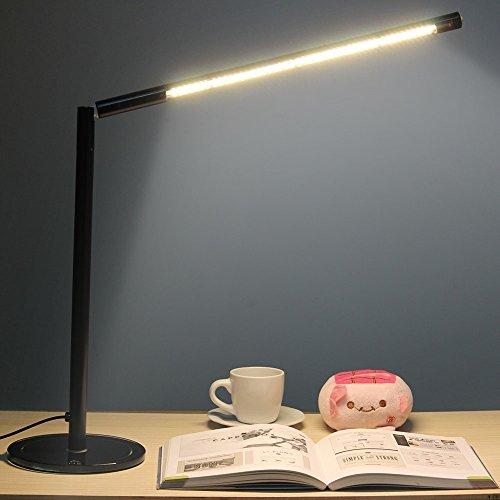 GHB Lampada da Tavolo a LED Dimmerabile Lampada da Scrivania Lampada Lettura...