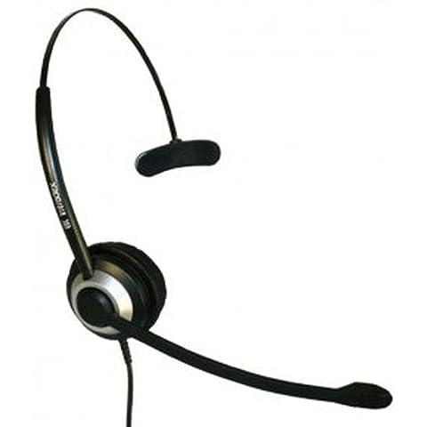 Imtradex Bundle Headset incl. NoiseHelper: BasicLine TM auricolare monaurale per Cisco - IP Phone SPA 504G Telefono, cablato con NC, ASP + NoiseHelper, il controllo e la visualizzazione dei volumi