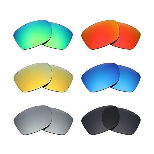 MRY 6Paar Polarisierte Ersatz Gläser für Oakley Jupiter Squared Sonnenbrille