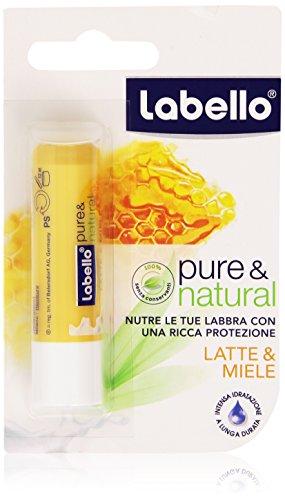 Labello - Nutre labbra, Latte e Miele - 4.8 g