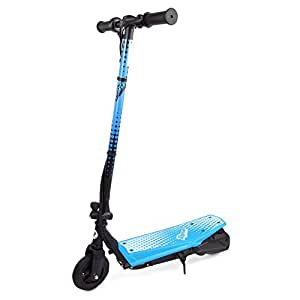 ripsar blue 24v kids electric scooter with air tyre. Black Bedroom Furniture Sets. Home Design Ideas