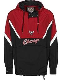 Mitchell   Ness Chicago Bulls Half Zip Anorak Jacket Windbreaker NBA HWC  Jacke 187a45efe721