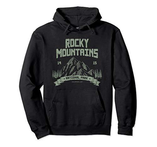 Rocky Mountains National Park Shirt Outdoor Geschenk Pullover Hoodie -