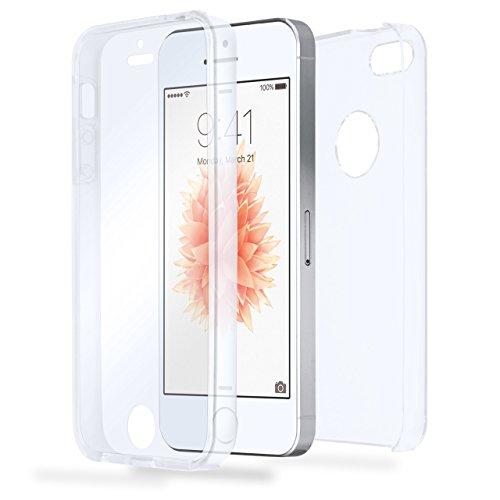 iPhone 6S Hülle Silikon Transparent [OneFlow 360 Grad Touch Cover] Dünne Schutzhülle Clear Handyhülle für iPhone 6/6S Case Ultra-Slim Silikonhülle TPU