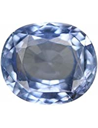 Gemstone Good Looking Blue Sapphire (Neelam) 5.7 Ratti Original Top Quality Pukhraj Stone
