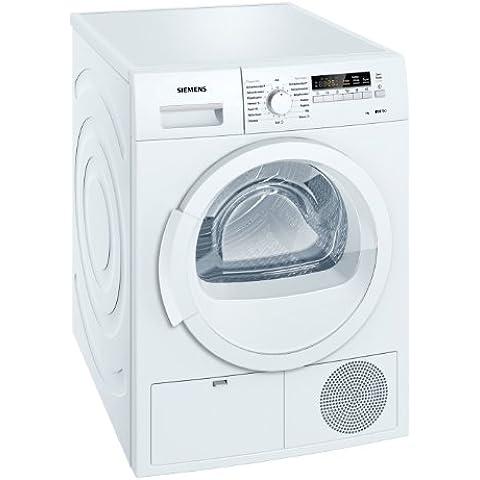 Siemens WT46B200 - Secadora (Independiente, Frente, Condensación, 8 kg, Algodón, Lingerie, Mezclar, Shirt/blouse, Programado, Lana, 62 Db) Color