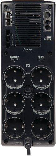 Bild 6: APC Back UPS PRO USV 1500VA Leistung - BR1500G-GR - inkl. 150.000 Euro Geräteschutzversicherung (6-Schuko Ausgänge, Stromsparfunktion, Multifunktionsdisplay)