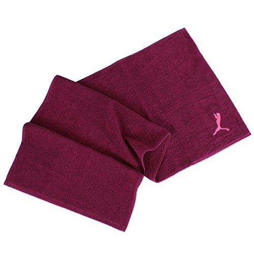 Puma Training Towel - magenta purple-pink glo, Größe:OSFA