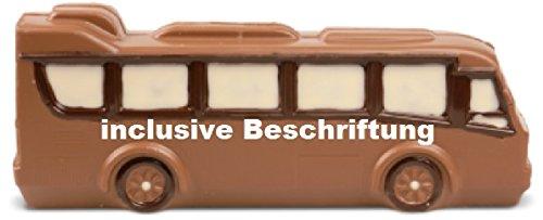 02#022520 Schokolade, Bus, incl. Beschriftung, Omnibus, Lkw, Auto, Vatertag, Vollmilch/Zartbitter, Geschenk, Trucker