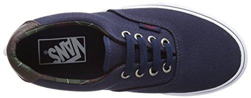 Vans–Era 59CA - Sneakers mixtes Bleu - Blue (Plaid - Dress Blues)