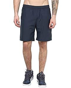 Aurro Sports Men's Polyknit Shorts ASASSS15-50021_Black_XXL