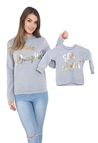like-mother-like-daughter-jumper-girls-women-kids-sweater-matching-top-glitter-gold-black-grey-kids-