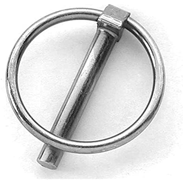 Bolzensicherung verzinkt Stahl 10 Stück Klappsplint 11,0 x 42 mm Klappstecker