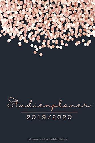 Studienplaner 2019 - 2020: Timer, Terminplaner und Kalender von September 2019 bis Oktober 2020 - Semesterkalender, Studentenkalender und Studienplaner 2019 - 2020