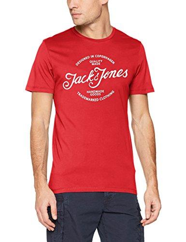 Jack & Jones Men's Jornewraffa Tee Ss Crew Neck Noos T-Shirt