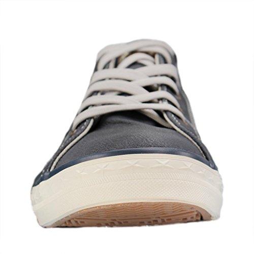 Mustang 1146-302-800, Sneakers Basses Femme Bleu