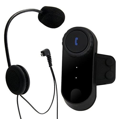 Pathson Motorrad Gegensprechanlage Bluetooth Gegensprechanlage bluetooth motorradhelm motorrad bluetooth headset (1x800M Bluetooth Headset)