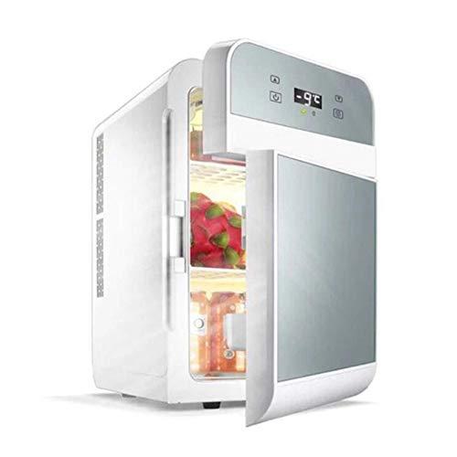 Elektroauto-Kühler und Wärmer für Auto und Zuhause, Mini-Kühlschrank, Dual-Core-Kühlung mit digitalem Thermostat,Gold - Gefrierfach Mit Kühlschrank Brust,