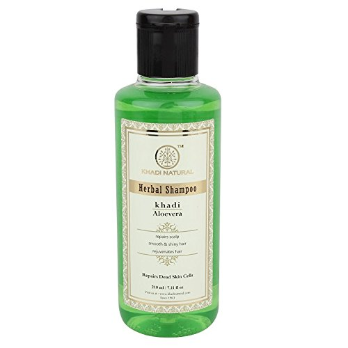 Khadi Herbal Aloevera Shampoo, 210ml