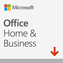 Microsoft Office Home & Business 2019 | one-time purchase | 1 PC (Windows 10) or Mac | home&/or commercial use | download