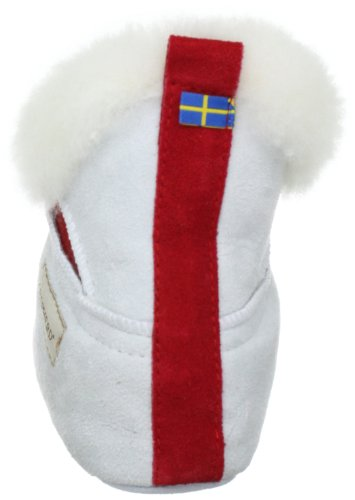 Shepherd MARIETTE Damen Flache Hausschuhe Weiß (White 01)