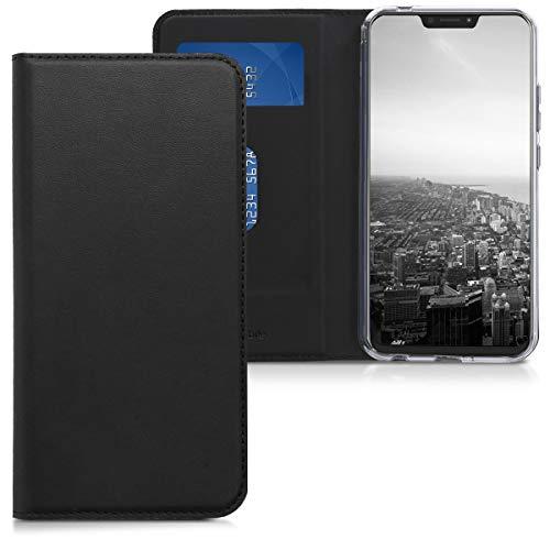 kwmobile ASUS Zenfone 5 / 5Z (ZE620KL/ZS620KL) Hülle - Kunstleder Handy Schutzhülle - Flip Cover Case für ASUS Zenfone 5 / 5Z (ZE620KL/ZS620KL)