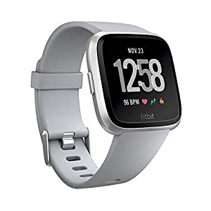 Fitbit Versa Smartwatch Deportivo, Gris, Talla única 1
