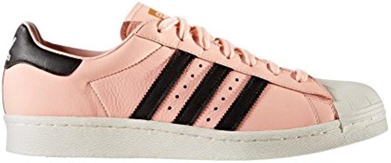adidas Schuhe – Superstar koralle/schwarz/weiß Größe: 38 -
