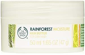 The Body Shop Rainforest Moisture Hair Butter, Mini, 1.65 Ounces