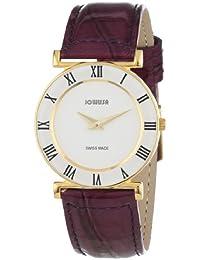 Jowissa J2.034.M - Reloj analógico de cuarzo para mujer con correa de piel, color morado