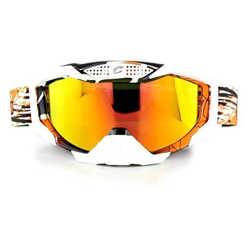 kamier Motocross Langlauf Outdoor Kletterbrille orange
