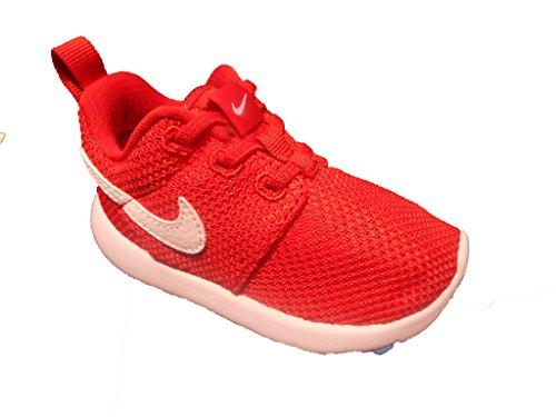 Nike Roshe One (Tdv), Sportschuhe Baby, Rot (University Netz / White), 27 EU