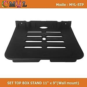MYL D2H SET TOP BOX STAND (Wall mount)